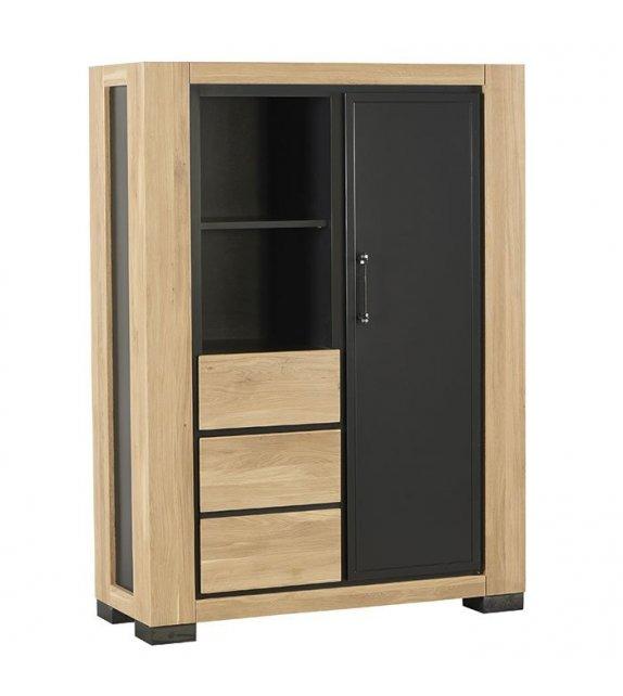 Armoire 2 portes 1 tiroir - New