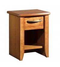 Table de chevet - 1 tiroir 1 niche - CERISIA