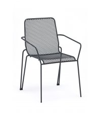 Fauteuil AMB empilable - ANTHRACITE
